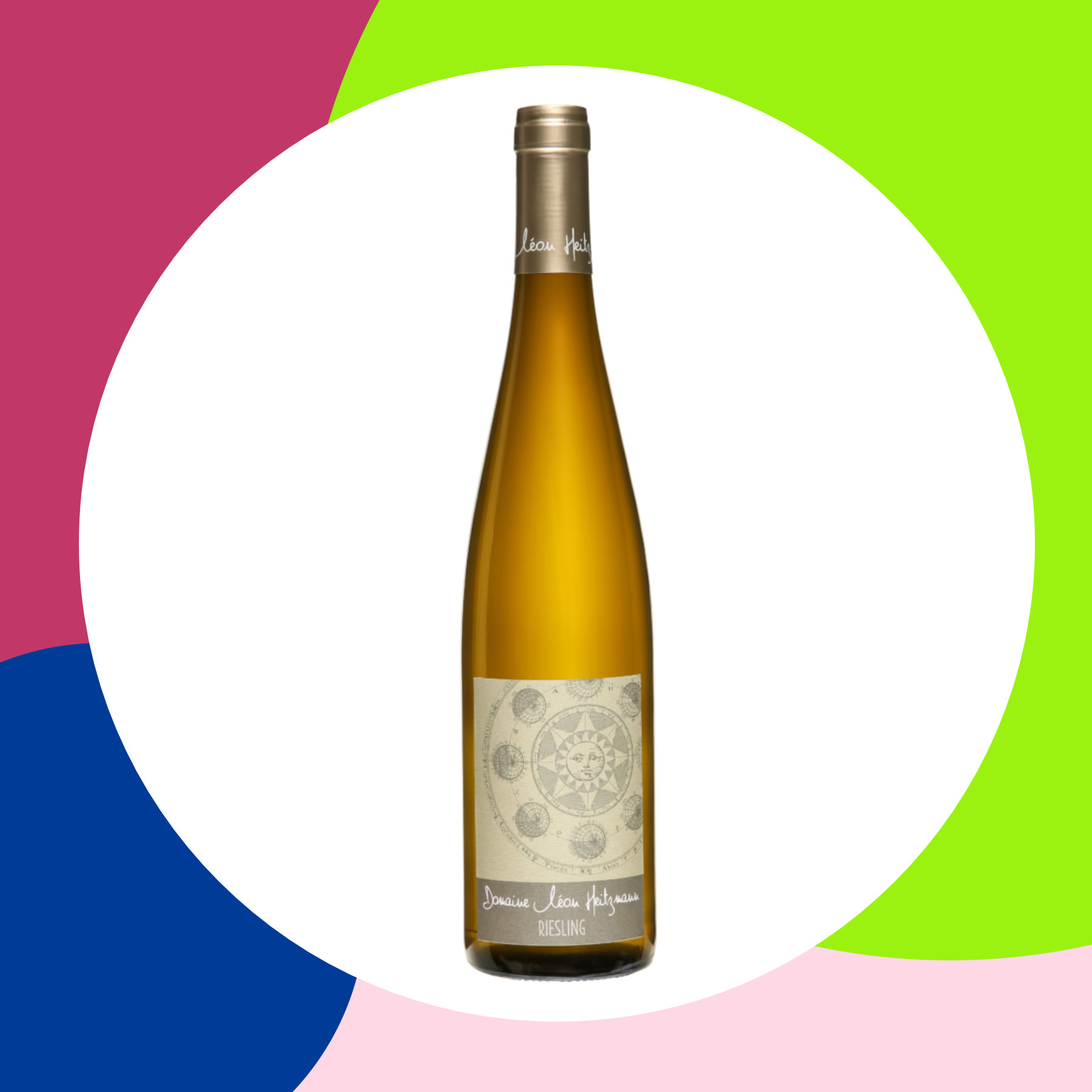 Riesling sec Alsace 2018
